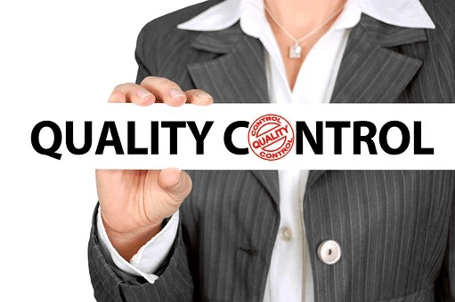 ISO 9001, Quality Control